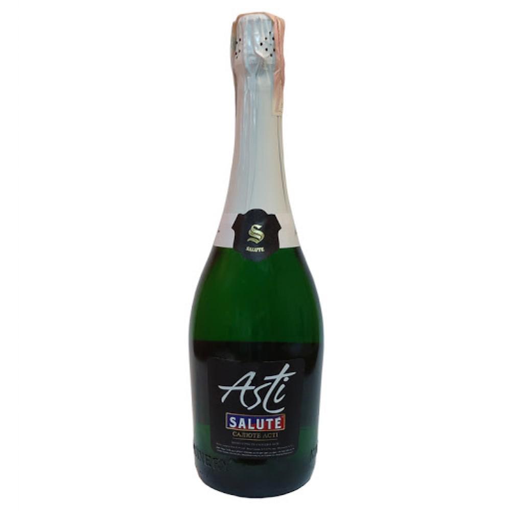 Шампанське салюте Асті Villa Krim біле солодке